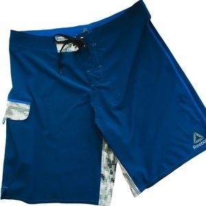 Reebok Men's Blue Board Shorts 36